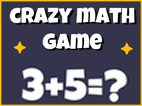 Free Game: Crazy Math Game