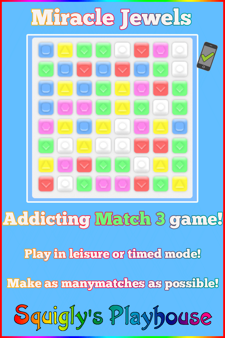 Get ready to match Miracle Jewels in this addicting Match 3 game!