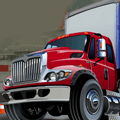 Free Online Game: Big Truck Parking
