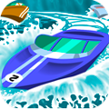 Racing Game: Speedy Boat
