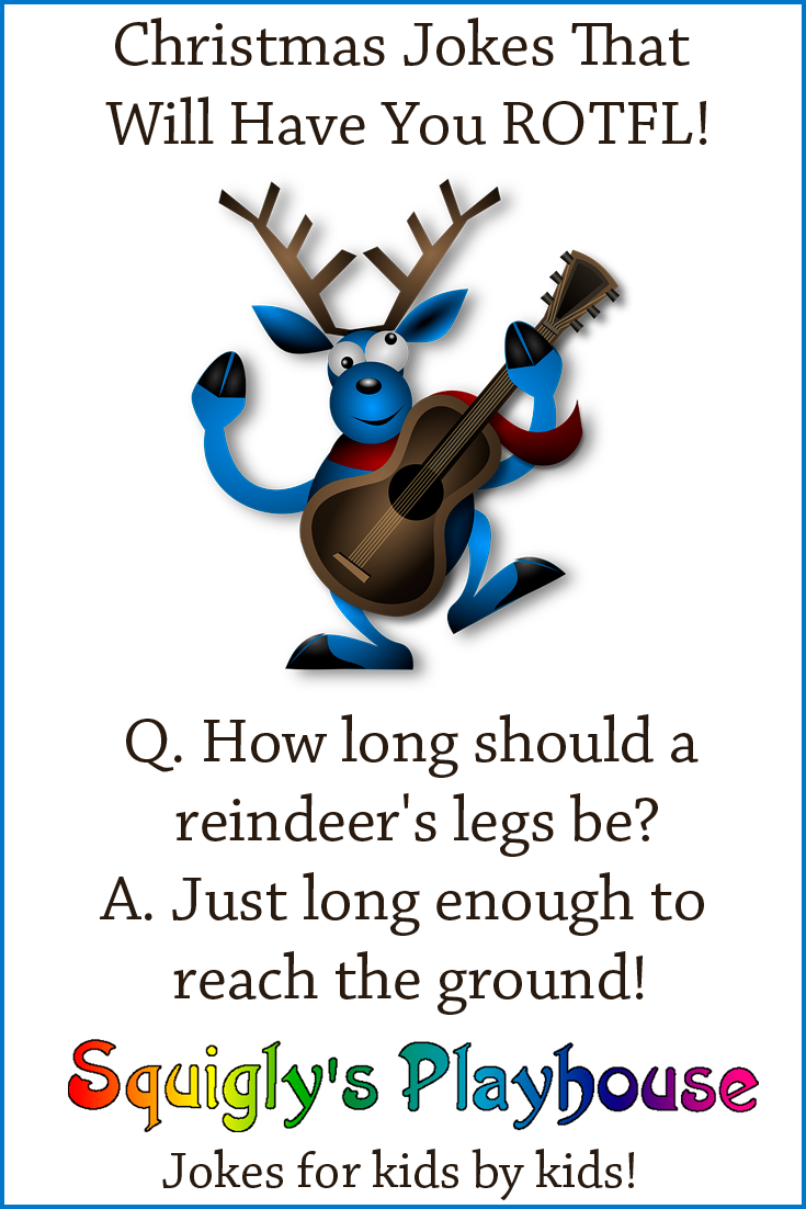 Christmas Jokes and Riddles for Kids at Squigly\'s Playhouse