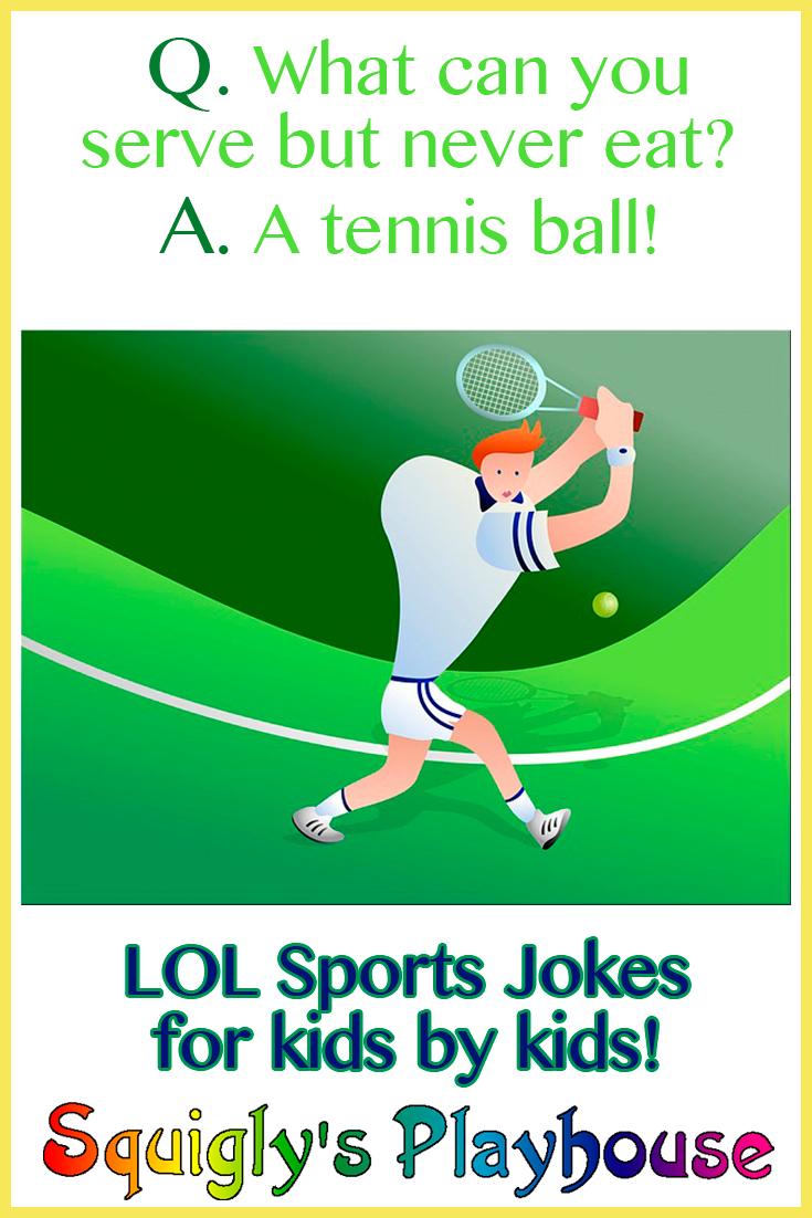 LOL, funny sports jokes for kids by kids!