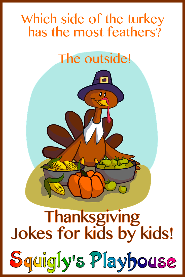 Thanksgiving Day Jokes and Riddles at Squiglys Playhouse