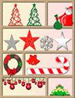Pencil Puzzle: Christmas Decorations Word Search (Online)