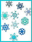 Pencil Puzzle: Snow Words Word Search Online