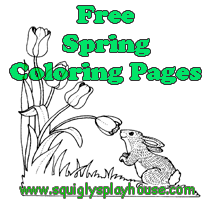 Free printable spring coloring page for kids. Celebrate the season and the holidays of spring with these coloring pages. Easter, Earth Day, Mother's Day and Father's Day coloring pages too!
