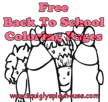 Over 30 free school coloring pages for kids.