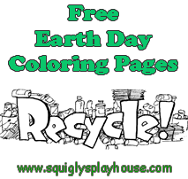 Free printable Earth Day Coloring Pages for kids.