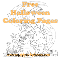 Over 30 Halloween Coloring Pages for kids.