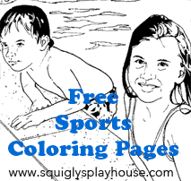 Over 30 Sports Coloring Pages for kids.