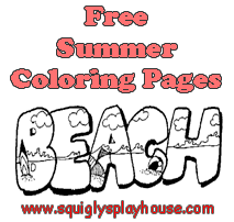 Over 75 Summer Coloring Pages for Kids