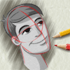 Learn To Draw A Boy's Face Craft