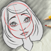 Learn To Draw A Girl's Face Craft