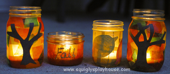 Fall Lights Squigly S Playhouse