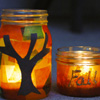 Fall Lights Autumn Craft