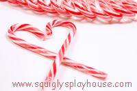 Christmas Craft: Candy Canes