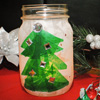 Christmas Tree Light Christmas Craft