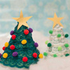 Lacy Christmas Tree Craft