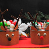 Reindeer Candy Dishes Christmas Craft
