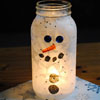 Snowman Light Christmas Craft
