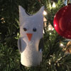 Snowy Owl Christmas Craft