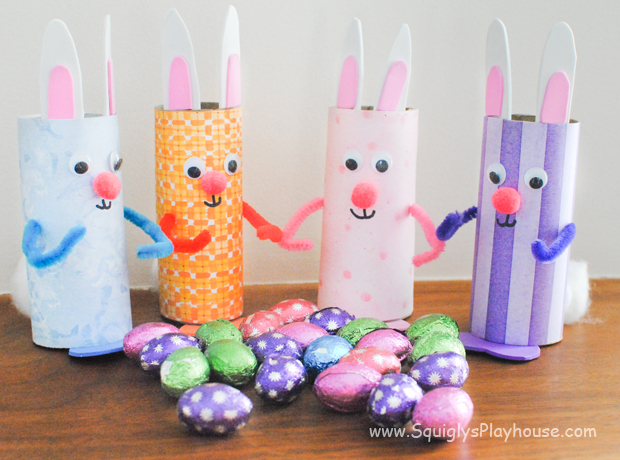 Easter Bunnies Craft Squigly S Playhouse