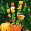 Halloween Candy Skewers Craft