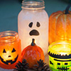 Glowing Monster Jars Craft