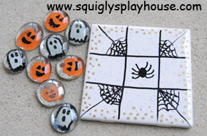 Halloween Craft: Tic-Tac-Toe Game Image 2