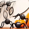 Spooky Spiders Craft