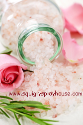 Mother's Day Craft: Epsom Bath Salts