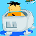 Online Flintstones Game: Freddy Flintsone