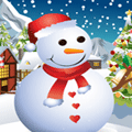 Dress Up Game: Cute Snowman