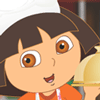 Dora's Fast Food Online Cartoon Character Game