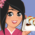 Online Cooking Game: Dragon Roll Sushi