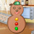 Cooking Game: Snowman Cookies