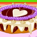 Valentine Chocolate Cake Online Game
