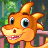 Baby Dino Mania Online Time Management Game