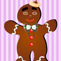 Dress Up Game: Gingerbread Man Dress Up
