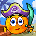Puzzle Game Cover Orange PIrate