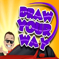 Draw Your Way Puzzle Game