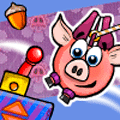 Piggy Wiggy Seasons Puzzle Game