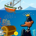 Treasure Hunter of the Sea Puzzle Game