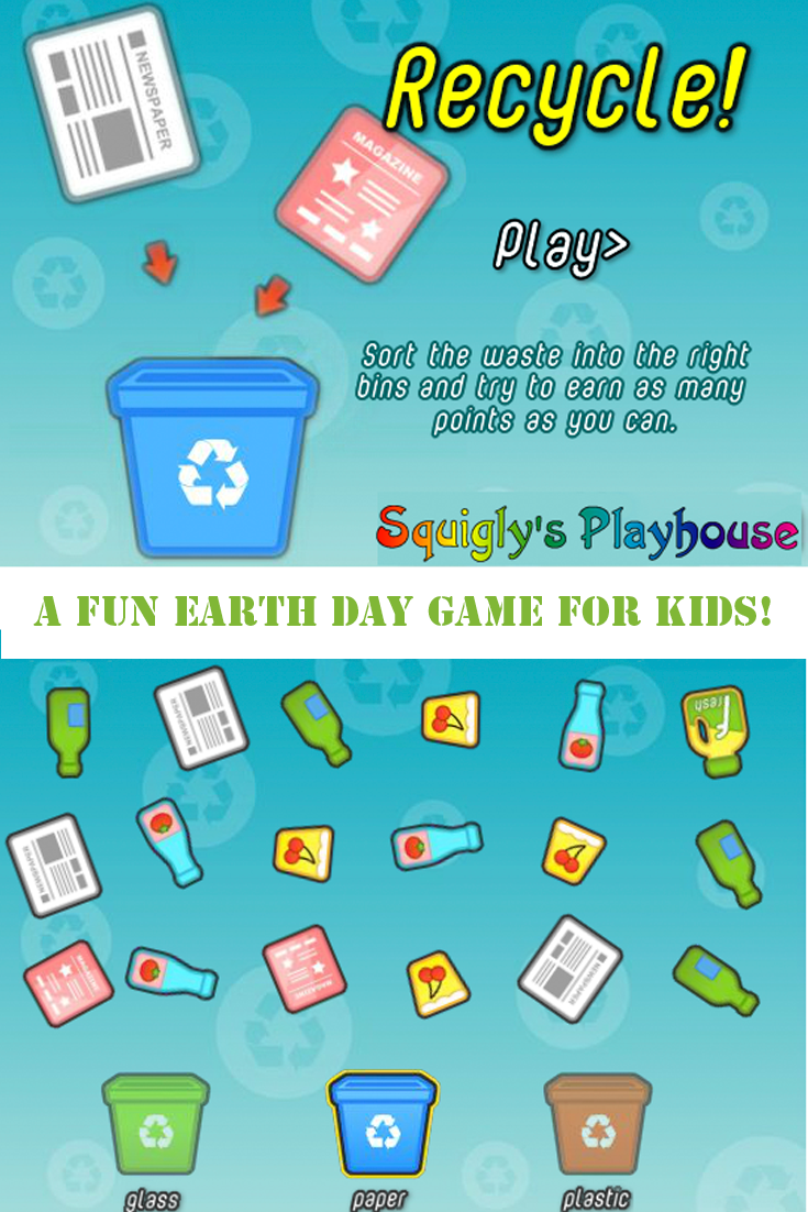 A fun Earth Day puzzle game for kids!