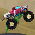 Monster Truck Sprint Racing Game
