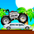Racing Game: Police Monster Truck