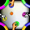 Air Hockey 2x2 Two Player Game
