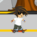 Sports Game: Rocket Skateboard