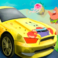 Racing Game: SpongeBob Speed Car Racing