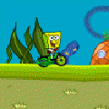 Spongebob Rainbow Rider Racing Game
